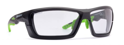 All sport sunglasses with photochromic DCHROM lenses and removable frame