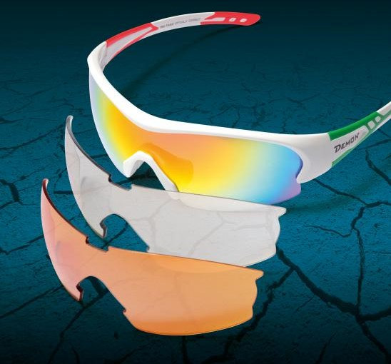 cycling sunglasses with interchangeable lenses for road cycling