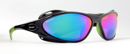 Glacier Sunglasses for men and women category 4 lenses black green