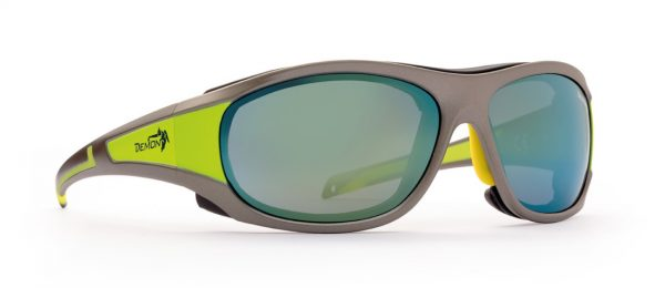 High mountain sunglasses makalu category 4 lenses grey yellow