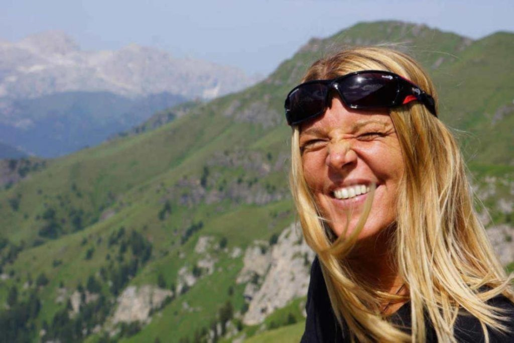 Hiking and mountaineering sunglasses for women