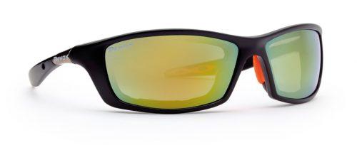 Hiking sunglasses aspen model black orange