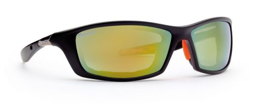 Hiking sunglasses aspen model black orange