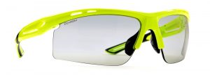 Photochromic dchrom sunglasses for cycling and mountain bike cabana model neon yellow