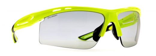 Photochromic dchrom sunglasses for running and cycling cabana model neon yellow