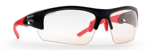 MTB photochromic sunglasses with photocrhomic lenses