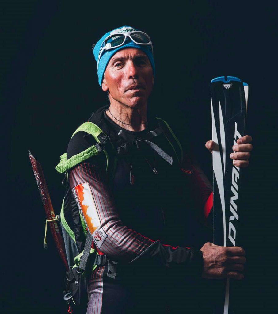 Ski mountaineering sunglasses makalu model photochromic lenses