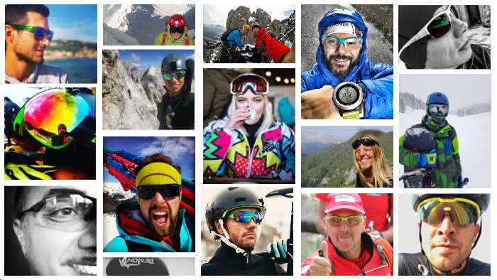 Sport sunglasses for all sports