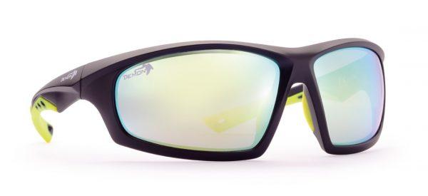 Sport sunglasses for hiking curve model matt black
