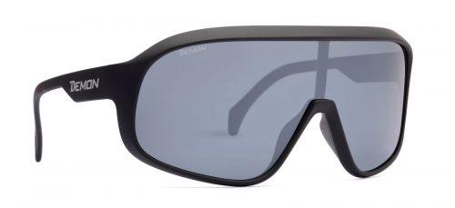 Polarized sunglasses for mtb and road cycling crash matt black