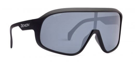 Polarized sunglasses for mtb and road cycling crash matt black