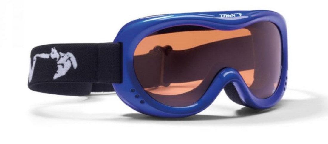 kids ski goggles orange lens snow 6 model blue