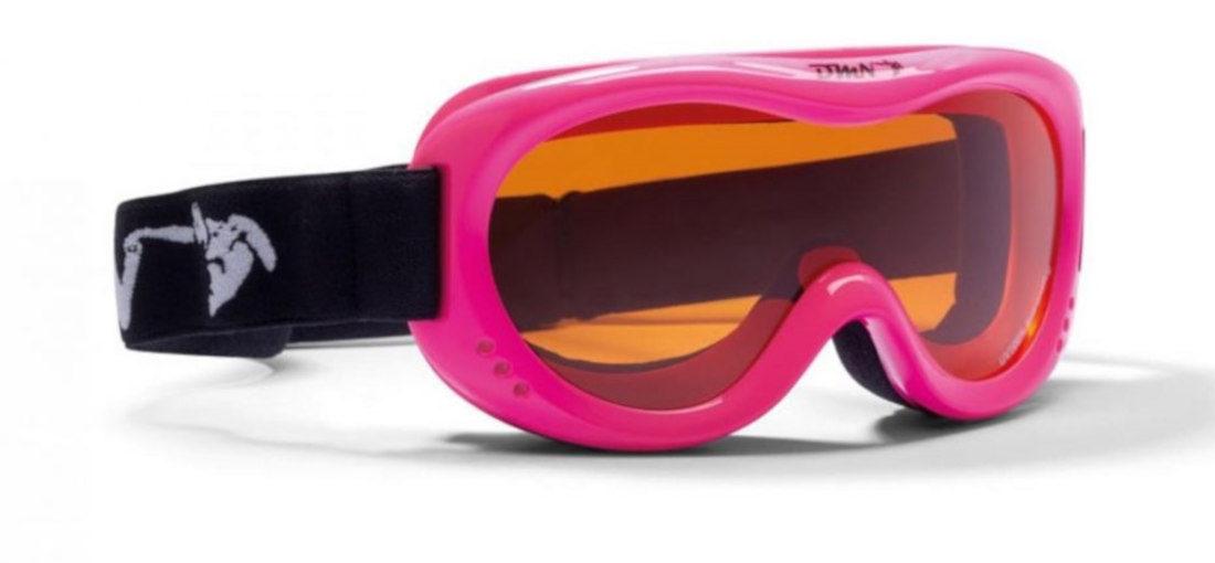 kids ski goggles orange lens snow 6 model fucsia fluo