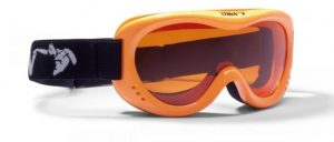 kids ski goggles orange lens snow 6 model