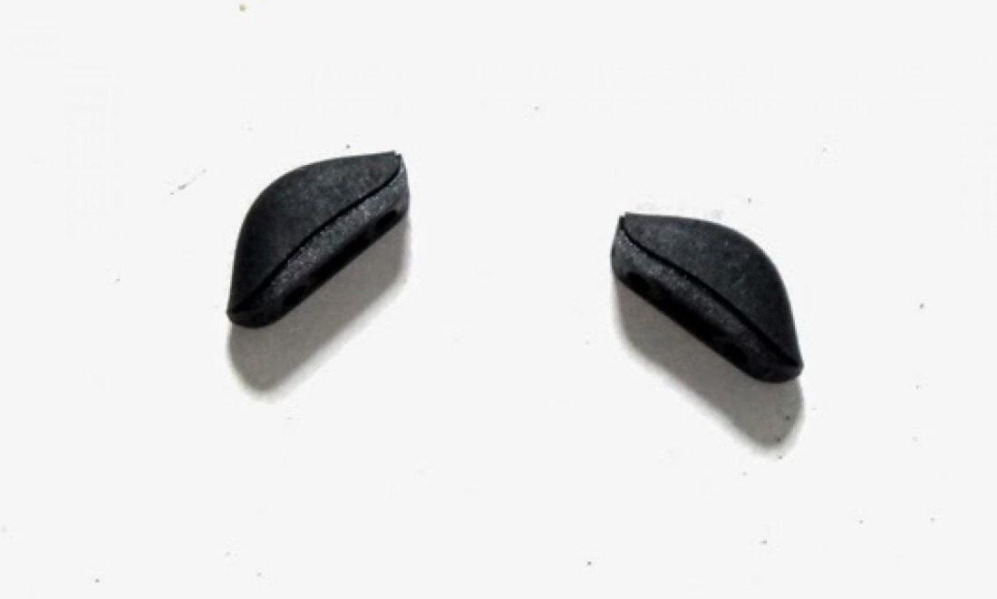 Nosepads for sport sunglasses