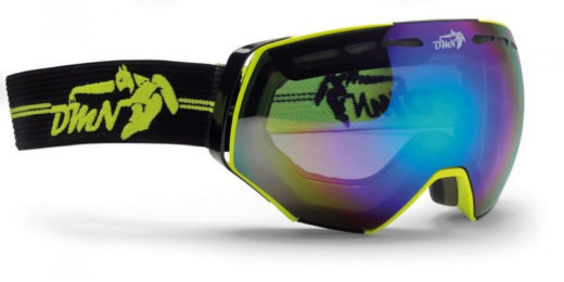 Slope and off-slope otg ski goggle