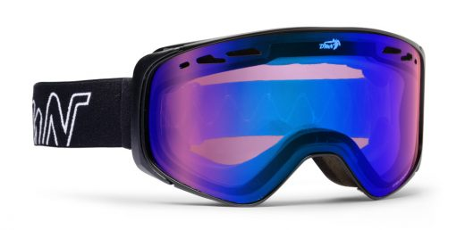 Photochromic otg for prescription glasses mirrored blue ski goggles big sky black