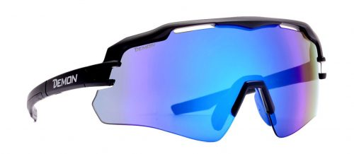 single lens cycling glasses with mirror lens imperial model