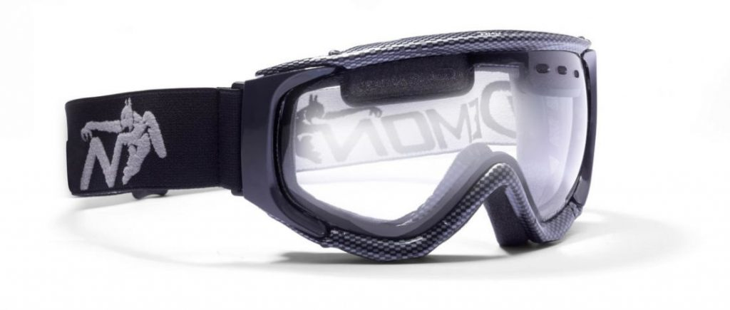 ski goggle for night skiing with clear lens