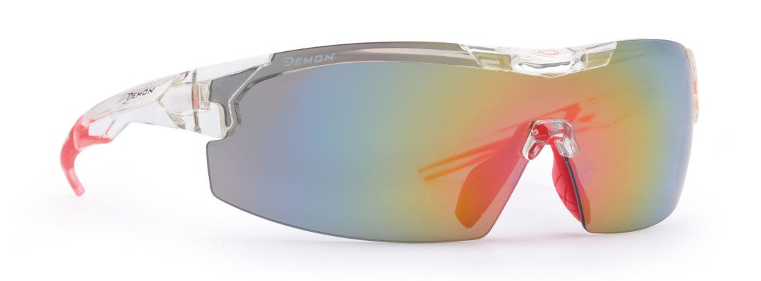cycling and running sportgalsses cystal color