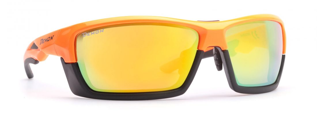 cycling and running sunglasses with removable frame record model