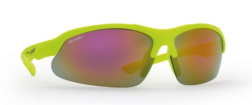 Cycling sunglasses for Kids KID CYCLE neon yellow
