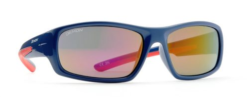 Kids sport sunglasses soft frame kid 6 model blue