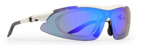 Multisport eyewear with visual clip interchangeable lenses arizona model