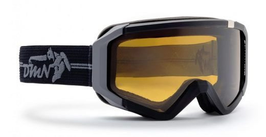 ski goggle neu photochromic polarized lens matt black