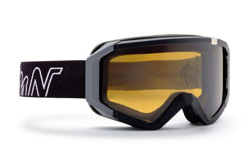 Neu photochromic polarized lenses ski goggle black grey