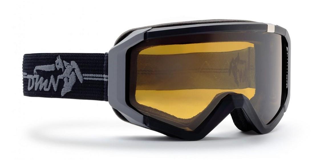 ski goggle neu photochromic polarized lens matt black