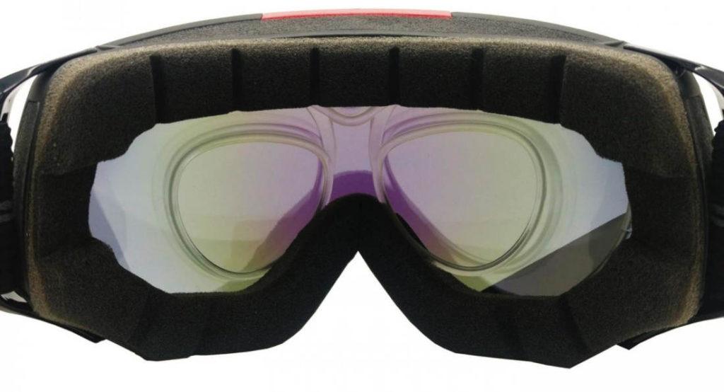 optical clip for otg ski goggles prescription lenses
