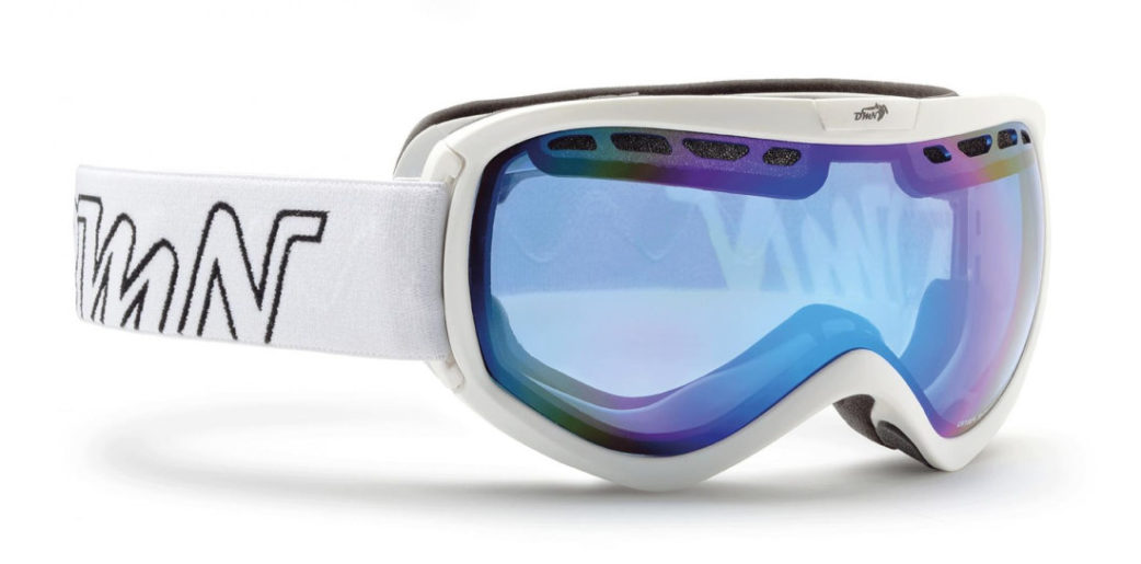 OTG ski goggle for women raptor white color