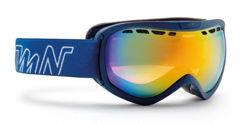 OTG Snowboard goggle raptor orange lens blue color