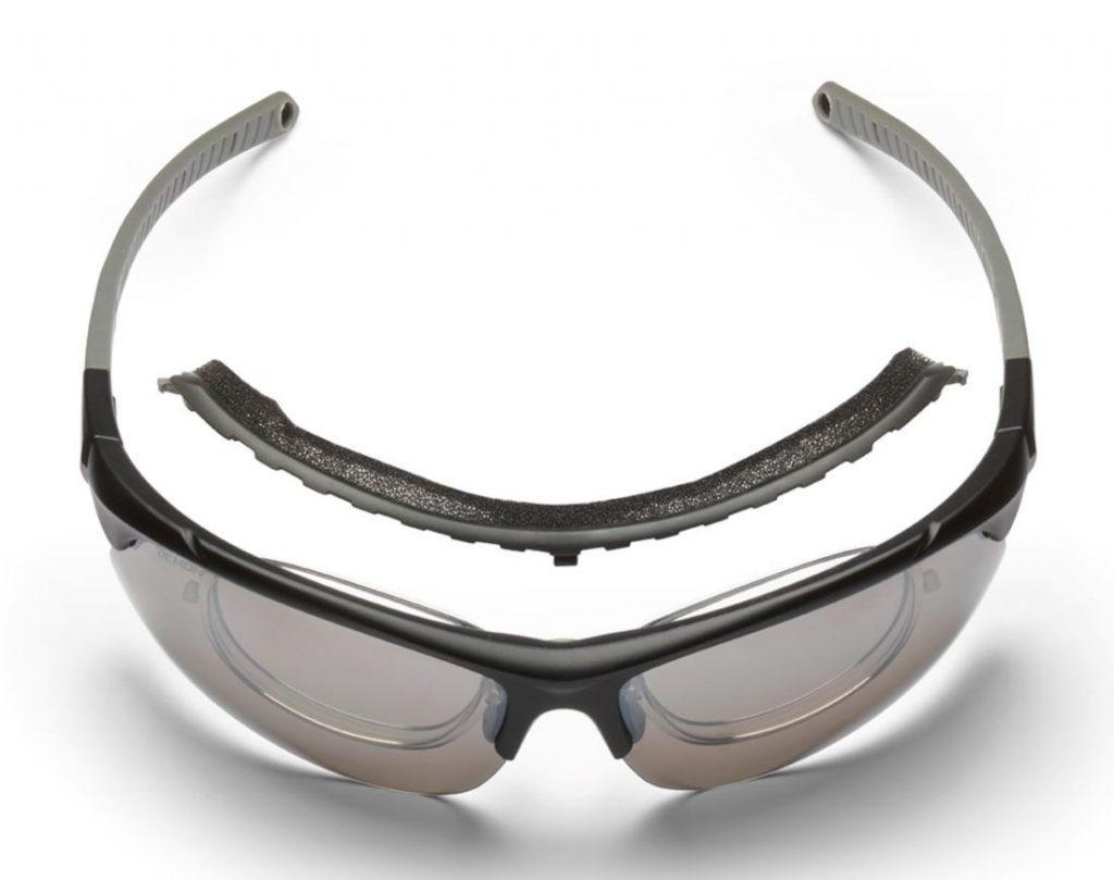 Photochromic sports glasses dchrom lenses infinite optic rx