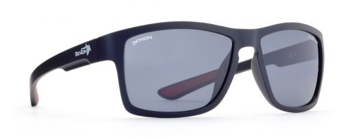 Polarized Fashion sport sunglasses psquare model matt black