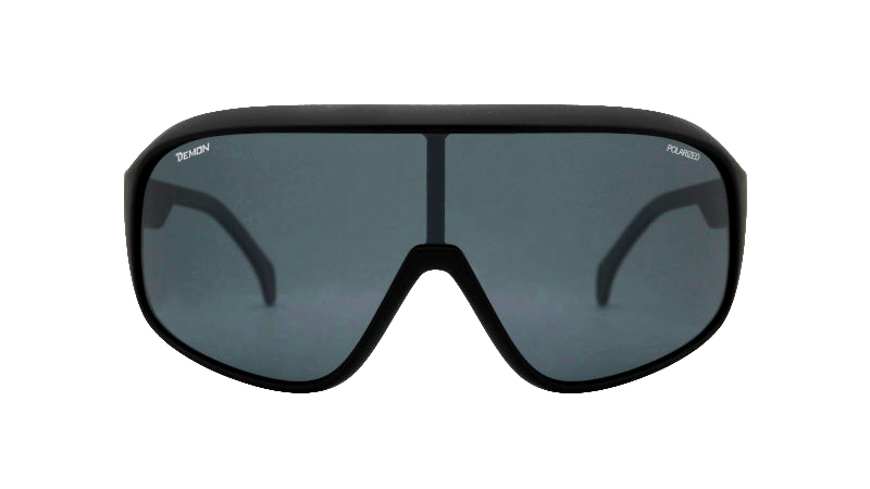 Road cycling glasses with polarized lens crash model