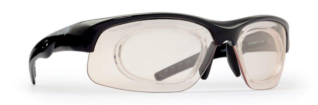running eyewear photochromic lenses fusion black