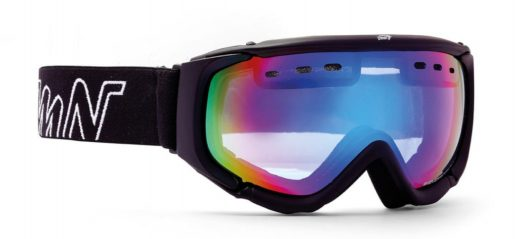 Ski goggle matrix orange lenses rubber black color