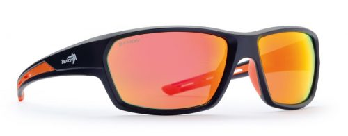 Sport and lifestyle sunglasses sprint model matt black orange