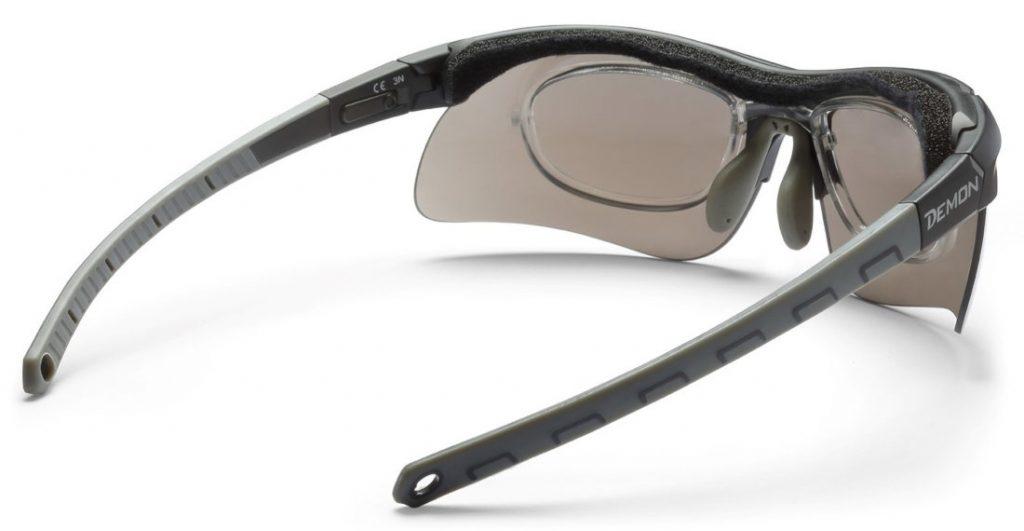 Sport prescription glasses dchrom with optical clip infinite optic model
