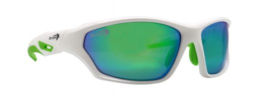 Technical Sunglasses for All Sports Galaxy White Green