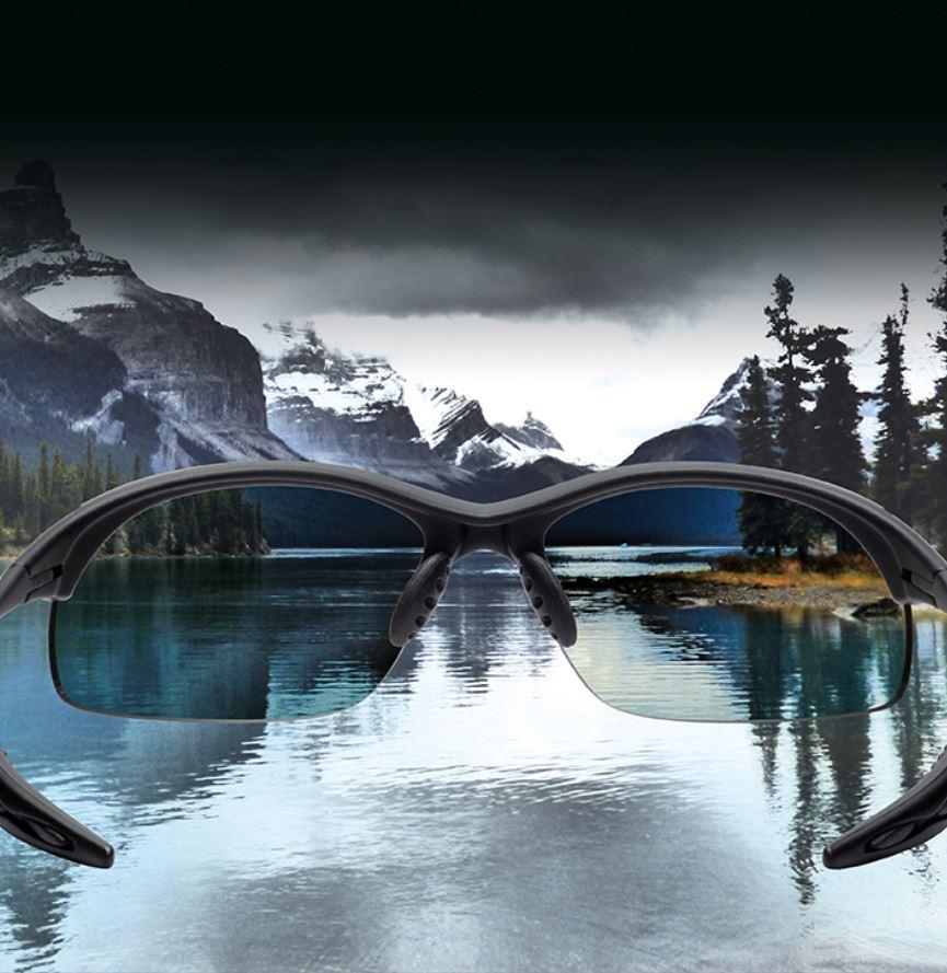 Polarized lenses for sports sunglasses