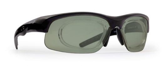 Sport prescription glasses dpol polarized lenses fusion model matt black
