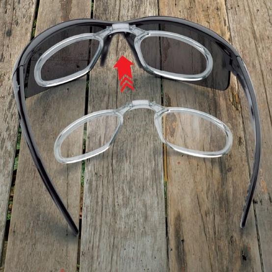 Sport prescription glasses with dpol polarized lenses fusion model