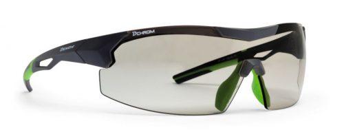 Mask sunglasses for running photochromic lens visual dchrom matt black