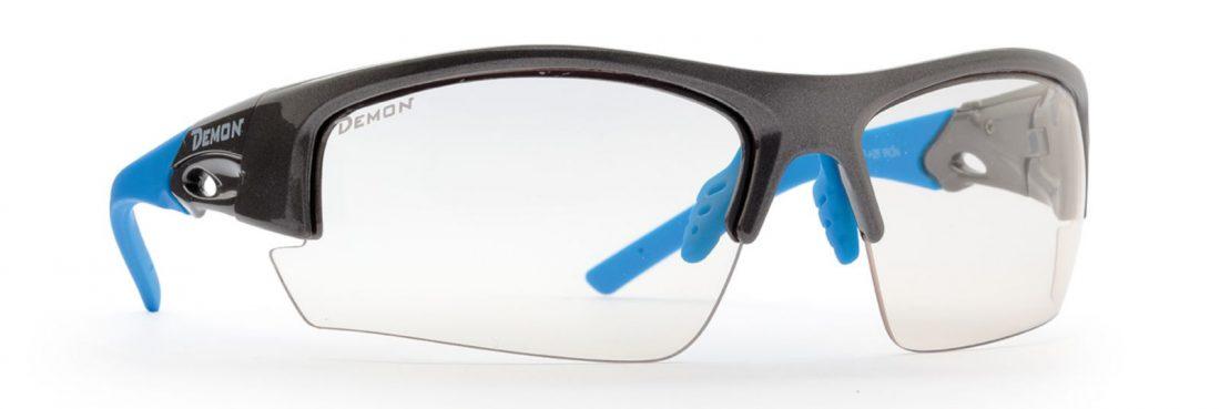 Photochromic sunglasses for trail running iron model