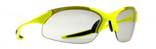 running and trail running sunglasses 832 model dchrom photochromic lenses neon yellow