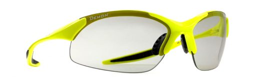 running and trail running sunglasses 832 model dchrom photochromic lenses neon yellow