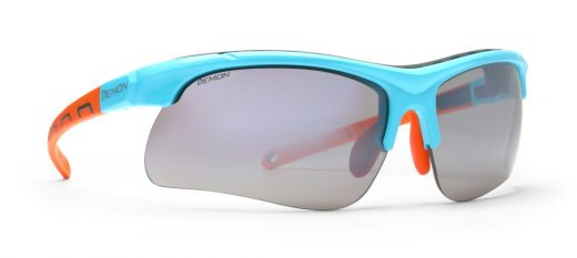 Running glasses interchangeable lenses infinite optic dchange lenses light blue